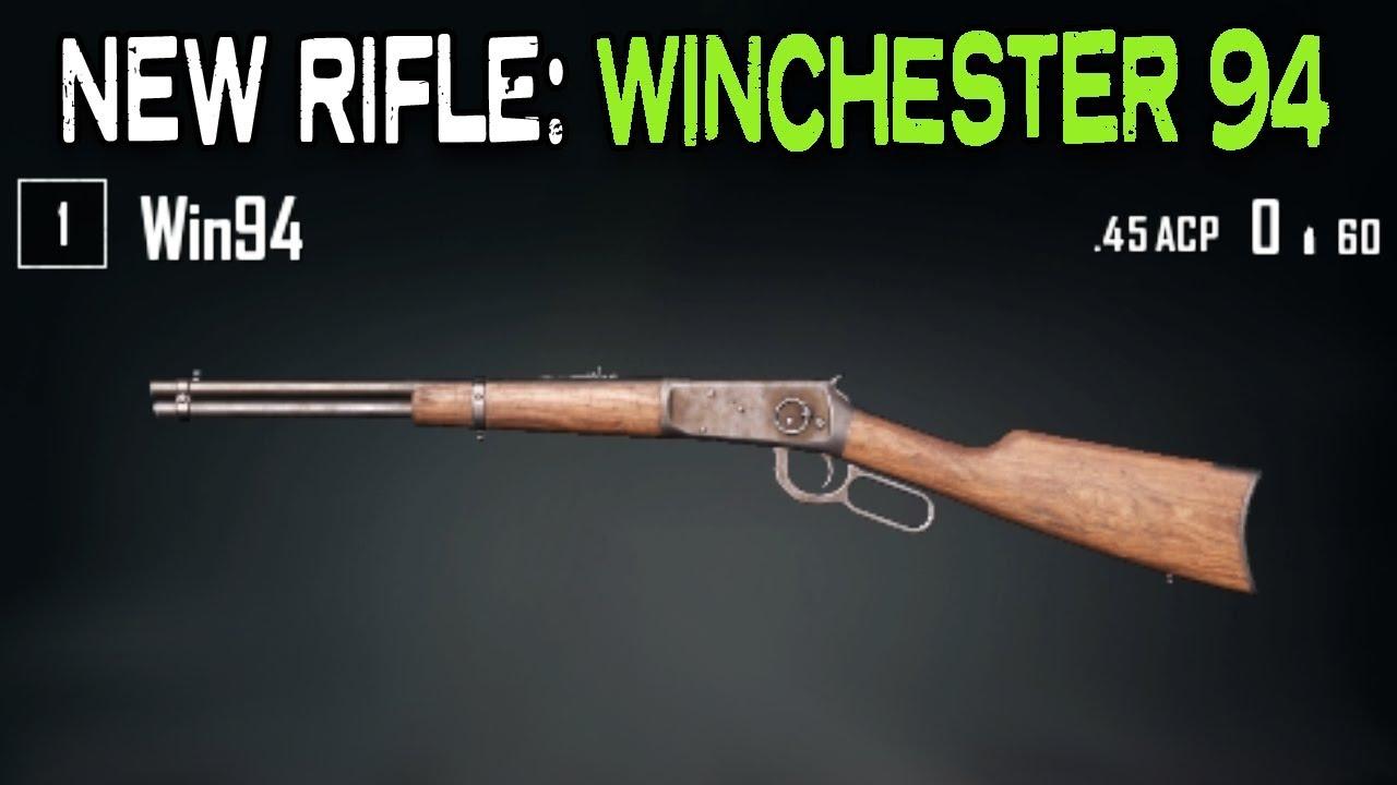 PUBG NEW RIFLE WINCHESTER 94 YouTube