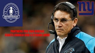 New York Giants- Carolina Panthers fire Ron Rivera! Will he be our next head coach?