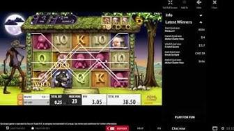 Big Bad Wolf online slot Mega Big Win 382x zwei bonus-Spiele