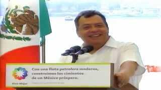 """Abanderamiento del Buque Tanque """"José María Morelos II"""" (evento completo)"""