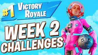 Fortnite Winning Solos! Week 2 Challenges! (Fortnite Season 3)