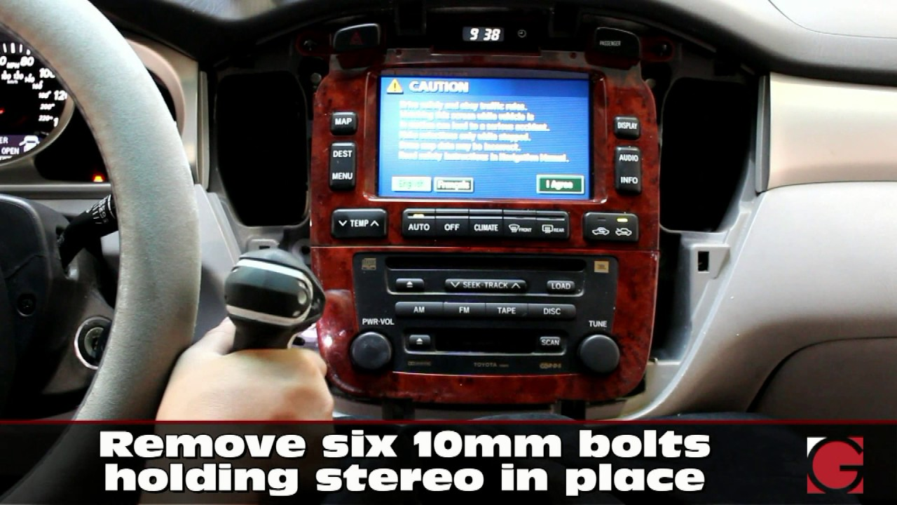 Grom Usb Android Iphone Bluetooth Install Into Highlander 2001 2007 Stereo Removal