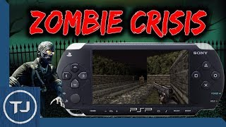 PSP Zombie Crisis (Homebrew Game Download!)