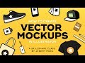 Vector illustration: How to Create Simple Product Mockups