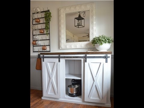Make Your Own Easy Sliding Barn Door Hardware!