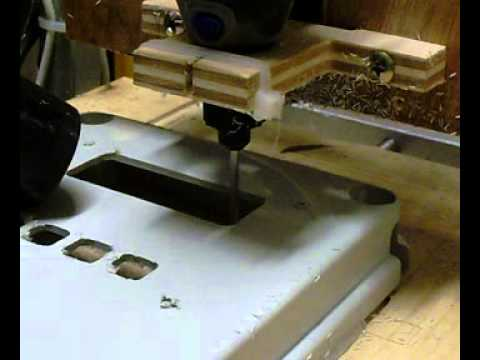 Homemade Cnc Machining Customizing A Plastic Abs