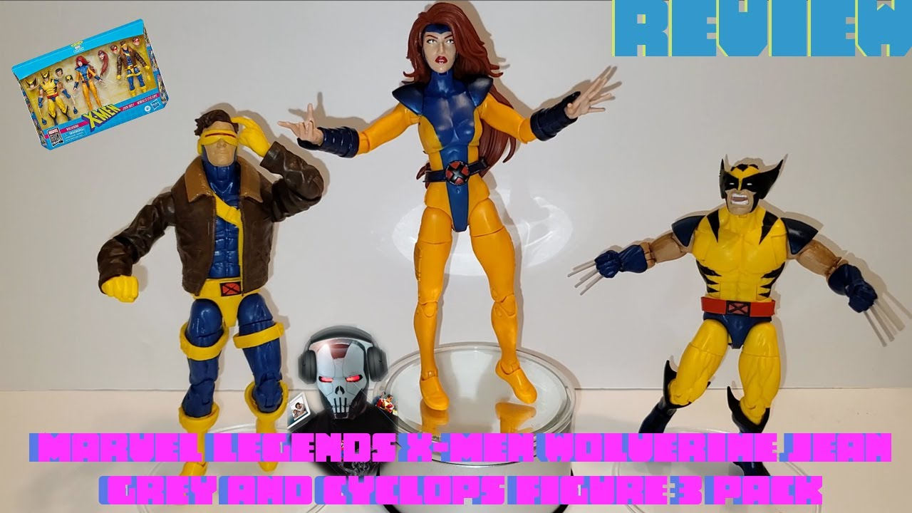 "Love Triangle Wolverine Marvel Legends 6/"" X-Men Jean Grey /& Cyclops 3 Pack"