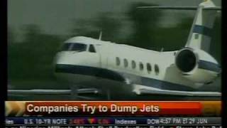 Companies Try to Dump Jets - Bloomberg