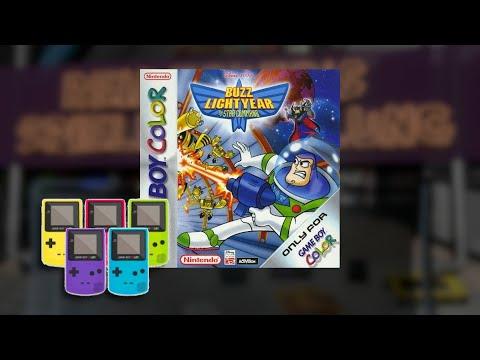 Gameplay : Disney/Pixar Buzz Lightyear of Star Command [Gameboy Color]