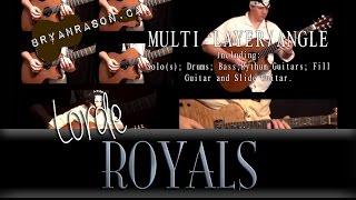 (Lorde) Royals - Bryan Rason - Instrumental Guitar