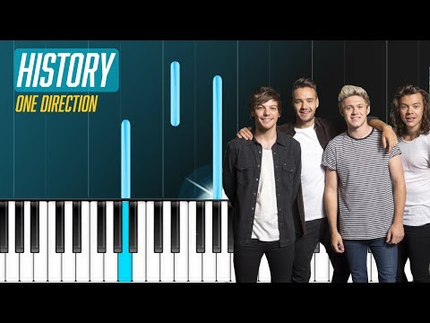 One Direction - ''History'' Piano Tutorial - Chords - How To Play - Cover