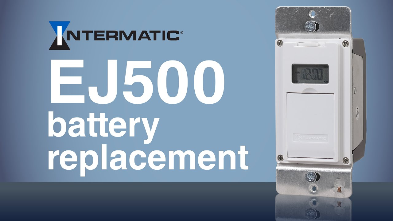 ej500 programmable timer battery replacement intermatic [ 1280 x 720 Pixel ]