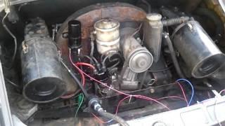 1965 Porsche 912 engine running