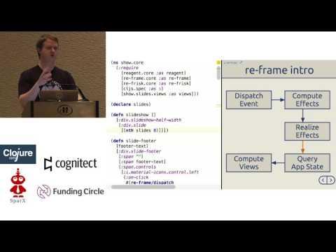 re-frame your ClojureScript applications