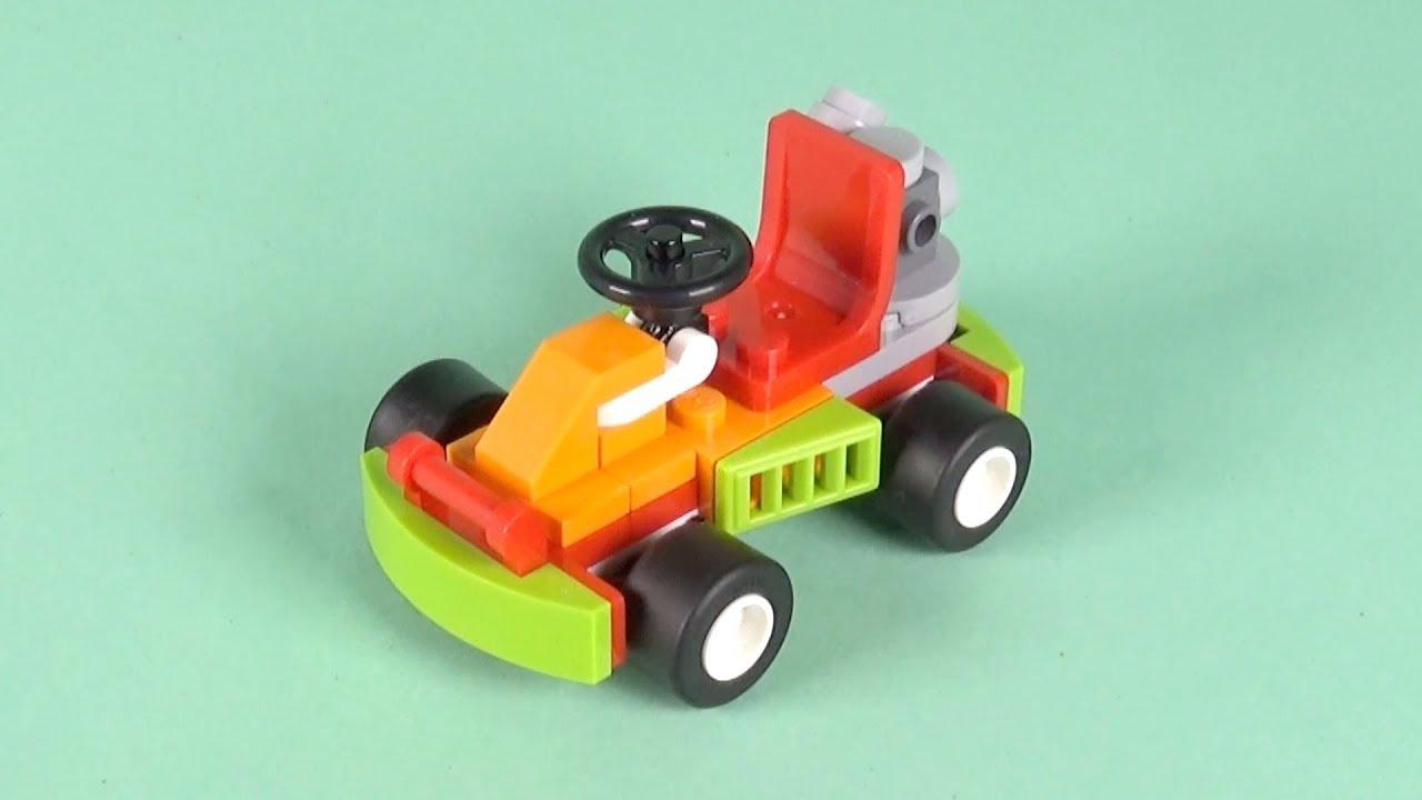 LEGO Race Car Building Instructions - LEGO Classic 10402