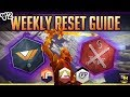 Destiny 2 Weekly Reset Guide Sept 26th Faction Rally Loot Pool Nightfall Modifiers More mp3