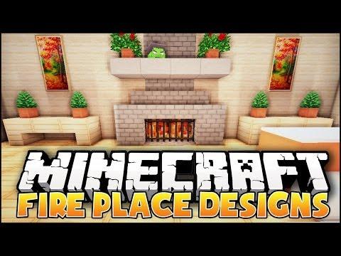 Minecraft: Fireplace Designs & Ideas