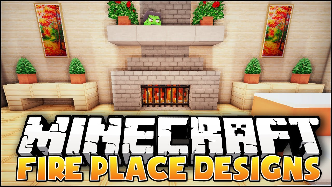 Minecraft Fireplace Designs Amp Ideas Youtube
