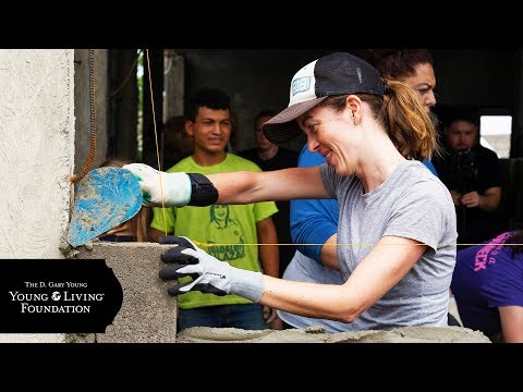 D Gary Young Young Living Foundation Empowers in Ecuador 2018