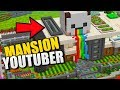 😱 MANSION YOUTUBER DE REDSTONE EN MINECRAFT PE 1.5 😱 ¡CON DESCARGA!