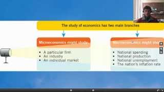 Macroeconomic policy and management