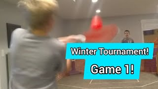 2019-2020 Winter Indoor Baseball Series Game 1 | Bingham Bros