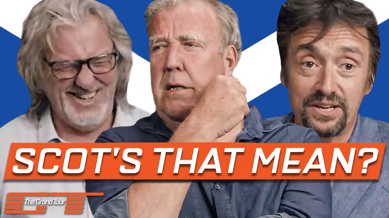 Learning Scottish Phrases with Clarkson, Hammond and May | The Grand Tour: Lochdown