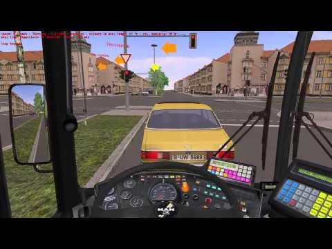 OMSI 2 Gameplay - Berlin-Spandau - Line 5: U Ruhleben - Nervenklinik