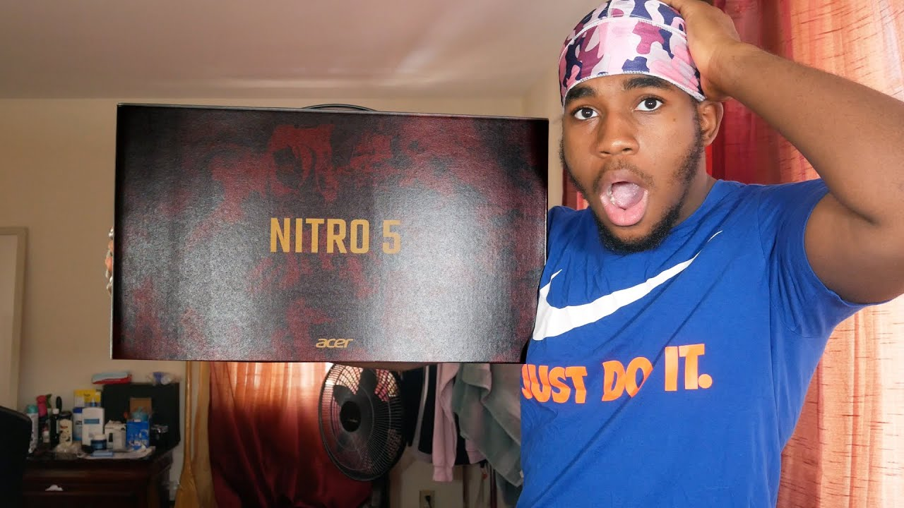 MY BRAND NEW GAMING LAPTOP! (Acer Nitro 5 GTX 1650 Unboxing & Game Testing)