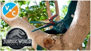 Mattel Jurassic World Roarivores Pteranodon Review