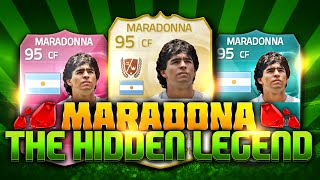 Fifa 15 The Hidden Legends - Diego Maradona! Ultimate Team