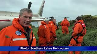 Investigations begin into non-fatal Southern Ocean chopper crash