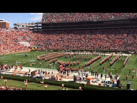 Auburn Marching Band: God Bless America And The Star Spangled Banner