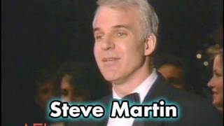 Steve Martin Salutes Jack Lemmon at AFI Life Achievement Award