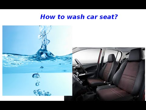 How to wash seat for Produa myvi?