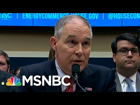 All Of Scott Pruitt's Scandals, From The Beginning | All In | MSNBC