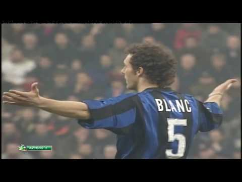 Laurent Blanc vs AC Milan - Serie A - 05/03/2000