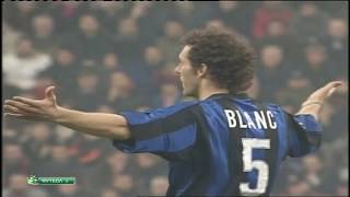 Laurent Blanc vs AC Milan - Serie A - 05/03/2000