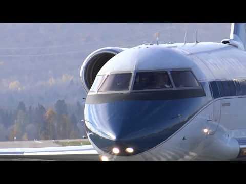 Bombardier Challenger 601 Medevac, CYQB Oct 20 2014
