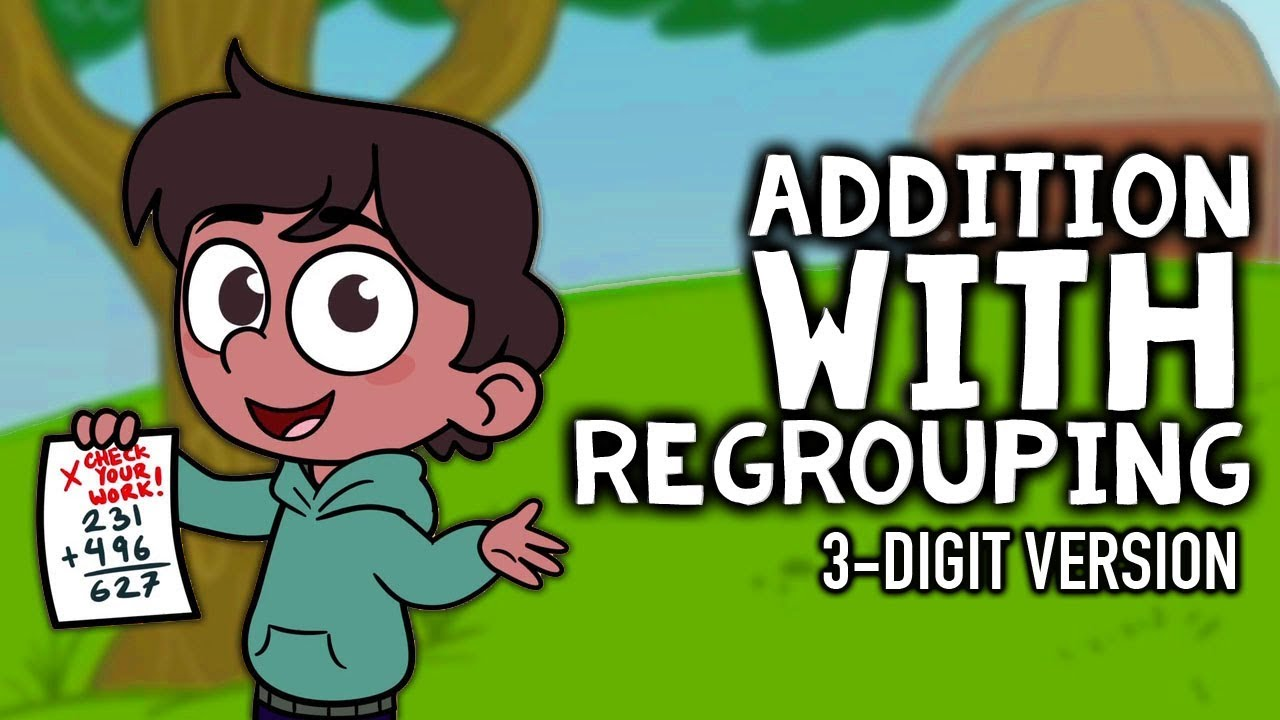 medium resolution of Addition with Regrouping Song   3-Digit Addition   3rd-4th Grade - YouTube