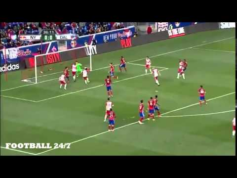 New York Red Bulls Brilliant Freekick Routine