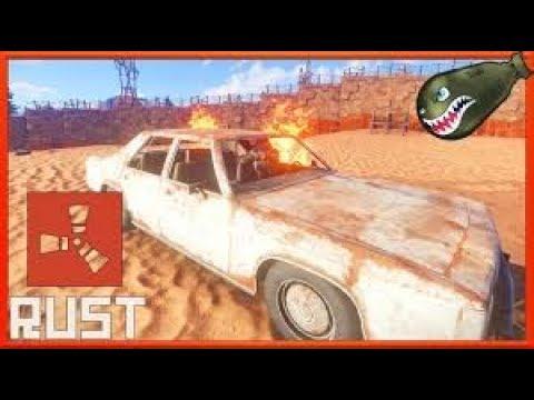 Rust | More Sedan Destruction Derby Fun! (Rust Funny Videos)