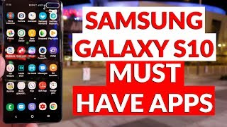 Samsung Galaxy S10 Must Have Apps - What's On My Phone 2019 - YouTube Tech Guy