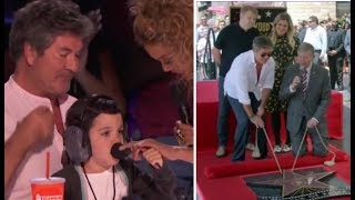 Simon Cowell's Son Eric's PRICELESS Reaction To Dad's Hollywood Walk Of Fame