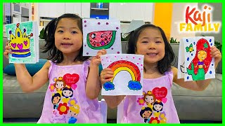 Paper Towel Magic Trick Easy DIY Science Experiments for kids with Emma and Kate!
