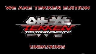 TEKKEN TAG TOURNAMENT 2: Unboxing We Are Tekken Edition