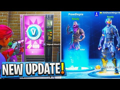 New Fortnite Update How To Download Quot Raven Quot Skin In