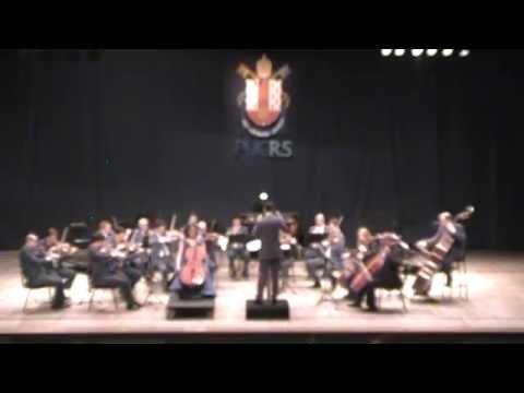 Orquestra Filarmônica da PUCRS e Kim Cook - Cello Concerto nº 1 (J. Haydn) - complete