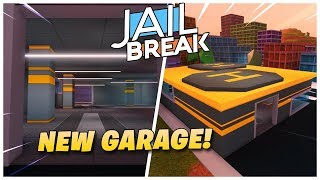 Roblox Jailbreak NEW GARAGE UPDATE! 🚗| SPAWN vehicles + SAVE car customizations! + More!| Full review