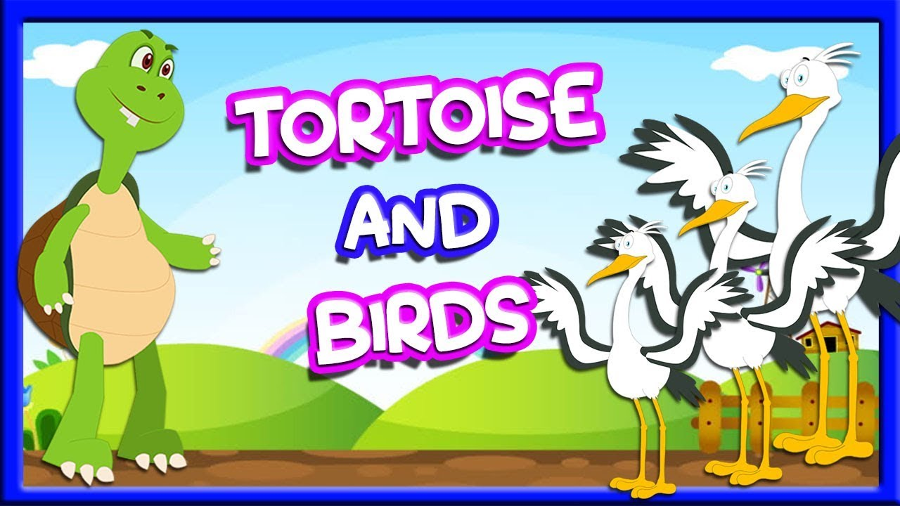 Tortoise And Birds | Story For Kids In English | Animated Story | Aesop's Fables | Tuk Tuk Tv